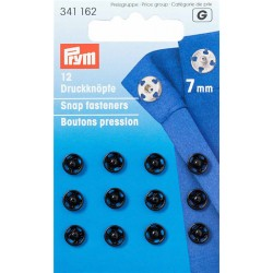 Prym press studs to sew 7mm