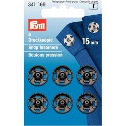 Prym press studs to sew 15mm