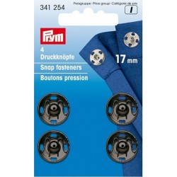 Prym press studs to sew 17mm