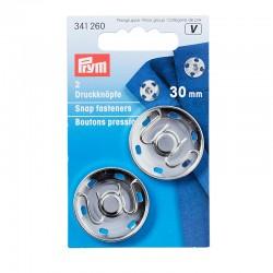 Prym press studs to sew 30mm