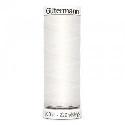 Gütermann sewing thread white (800) - 200m