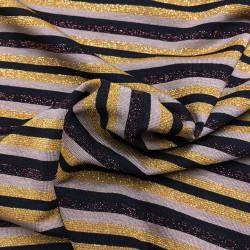 Lurex striped knit - 154cm