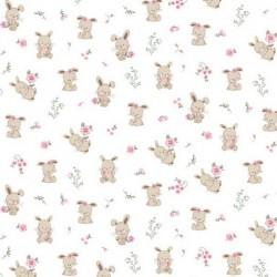 Cute bunny cotton