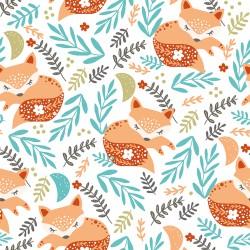 Cotton sleeping fox