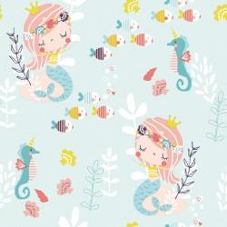 Cotton mermaid