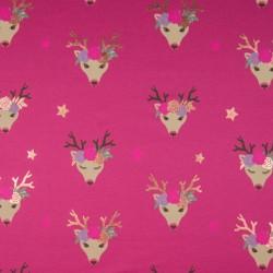 Jersey foil deer