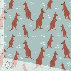 Elvelyckan Design - Kangaroo dusty mint - 80cm