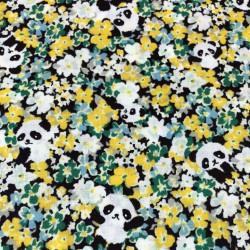 Cosmo - Yellow pandas - 140cm