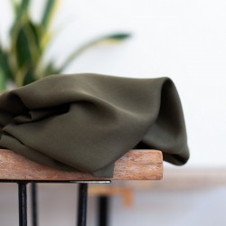 Meet Milk - Smooth drape twill