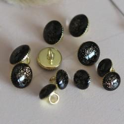 Lise Tailor - Shank button Gold glitter