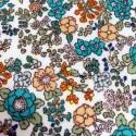 Cosmo - Turquoise flowers