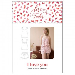 Lise Tailor - I love you - Camisole and short