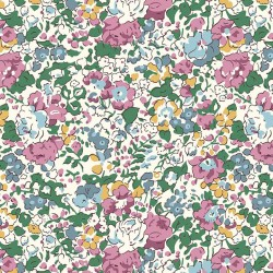Liberty Fabrics Organic Claire Aude