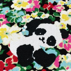 Cosmo - Printed sheeting multicolored pandas