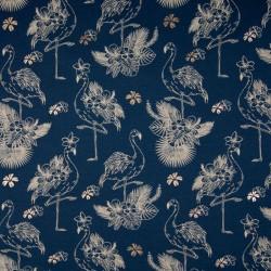 Jersey foil flamingo