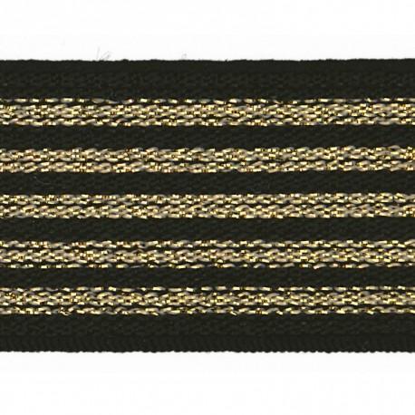 Lurex elastic 25mm