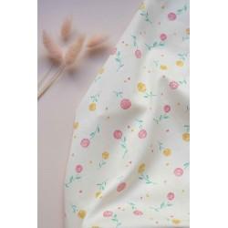 Lise Tailor - Satin cotton Flore