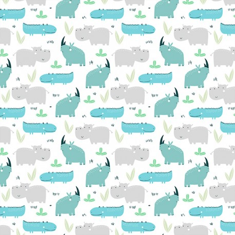 Cotton rhinoceros