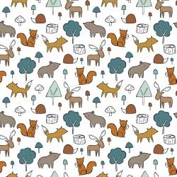 Sweat forest animals