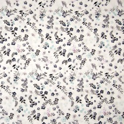 Flowers cotton voile