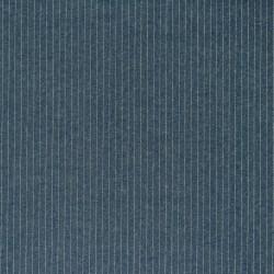 Light denim lurex striped