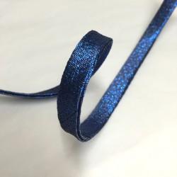 Bias tape black glitter