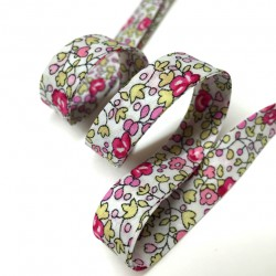 Bias tape Liberty Eloise pink
