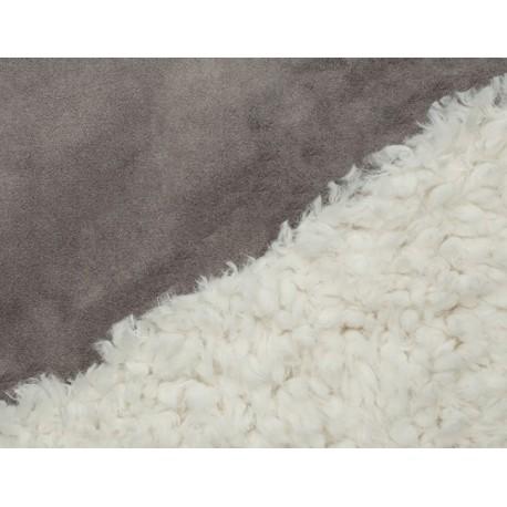 Bonded Llama Cuddle Ivory-Charcoal