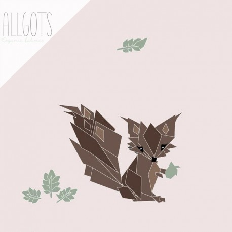 Allgots - Siv the Squirrel - Soft pink