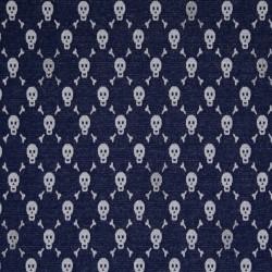 Jersey blue skulls