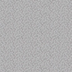 Stars grey cotton