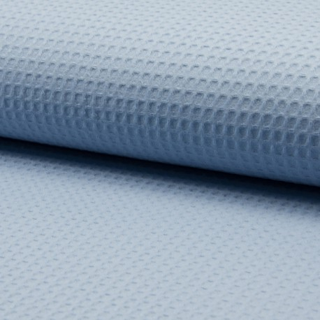Dusty blue honeycomb