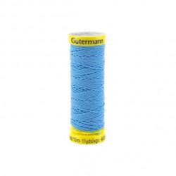 Gütermann blue Elastic Thread