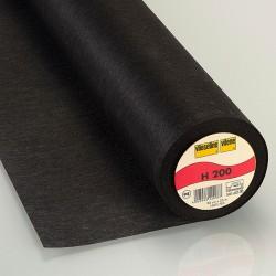 Vlieseline - Fusible interlining black