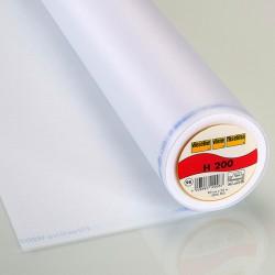 Vlieseline H200 - Fusible interlining white