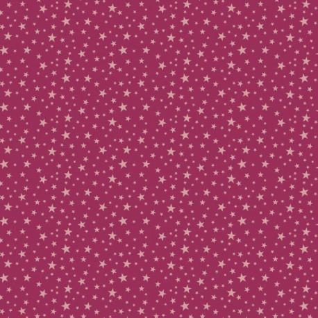 Corduroy pink stars
