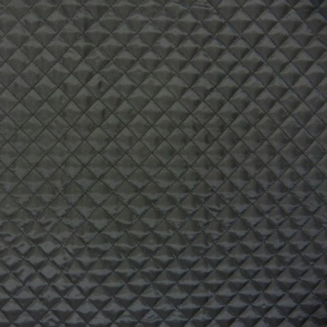 Black lining quilted