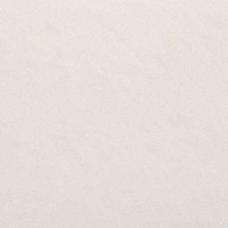 Sparkling white tulle